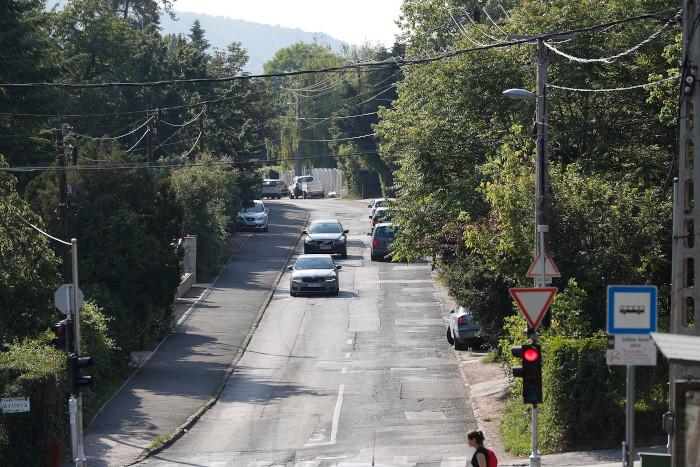 Megújul a Bimbó út a Gábor Áron utca és a Fenyves utca között