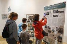 A sporttörténeti kiállítás megnyitója