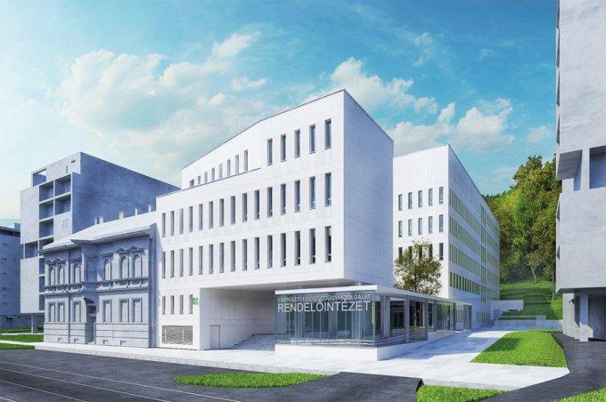 Indulhat a II. kerületi szakrendelő építése