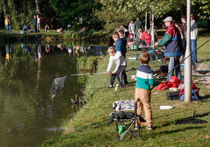 Horgászverseny a Hidegkúti Horgásztónál