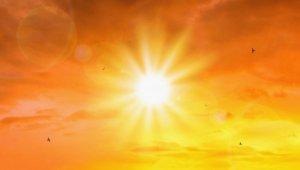 perzselő napsugár