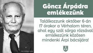 Göncz Árpád megemlékezés